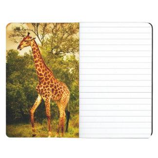 Jirafas surafricanas cuadernos grapados