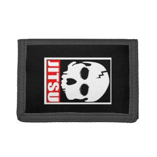 """""""Jitsu"""" MMA/ BJJ Skull Wallet"""