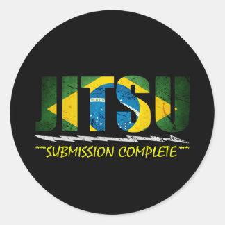 Jitsu - pegatina completo de la presentación de