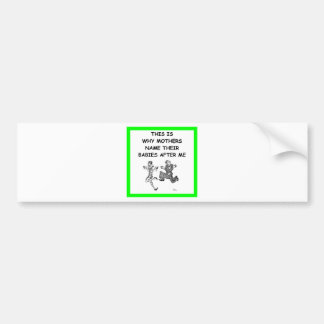 jitterbug car bumper sticker