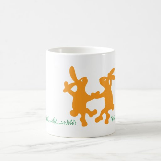 Jitterbug Classic White Coffee Mug