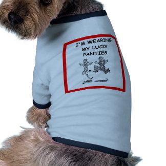 jitterbug dog tee shirt