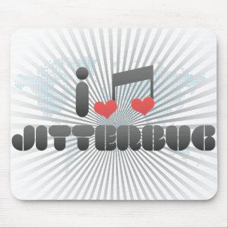 Jitterbug fan mouse pad