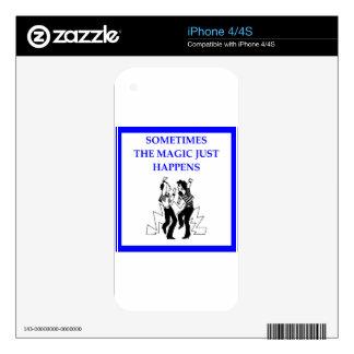 jitterbug iPhone 4S skin