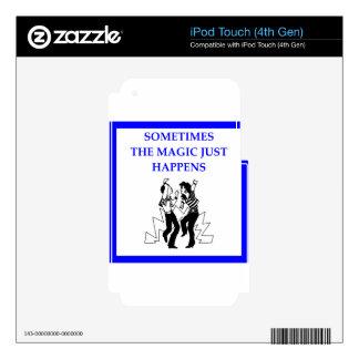 jitterbug skins para iPod touch 4G