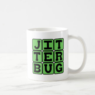 Jitterbug, Type of Dance Coffee Mug
