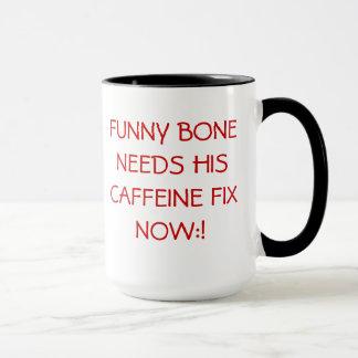 Jittery Funny Bone. Mug