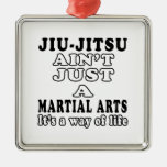 Jiu-Jitsu Ain't Just A Martial Arts Christmas Ornament