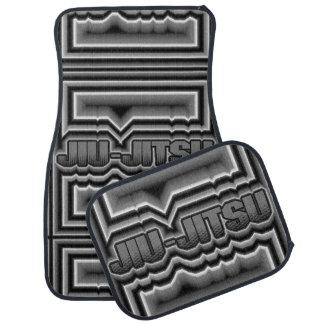 Jiu-Jitsu Alfombrilla De Auto