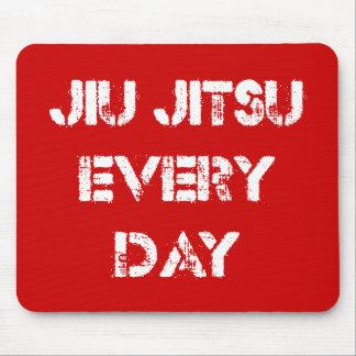 Jiu Jitsu cada día Mousepad