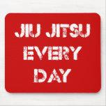 Jiu Jitsu cada día Mousepad Alfombrillas De Raton