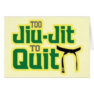 Jiu-Jitsu Card