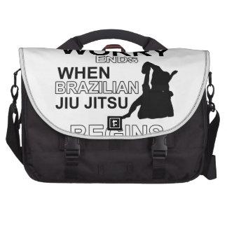 jiu jitsu Designs Commuter Bags