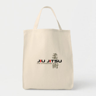 Jiu Jitsu - el bolso de Chokester Bolsa Tela Para La Compra