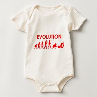Jiu Jitsu Evolution Baby Bodysuit