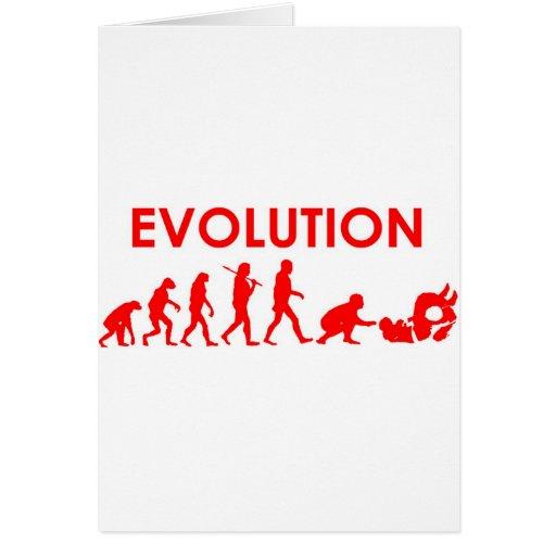 Jiu Jitsu Evolution Greeting Card