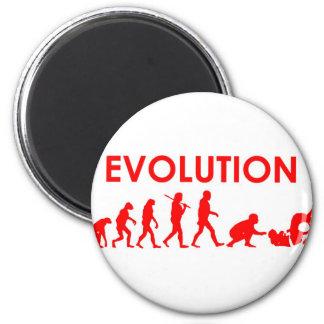 Jiu Jitsu Evolution Fridge Magnets