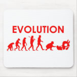 Jiu Jitsu Evolution Mouse Pad