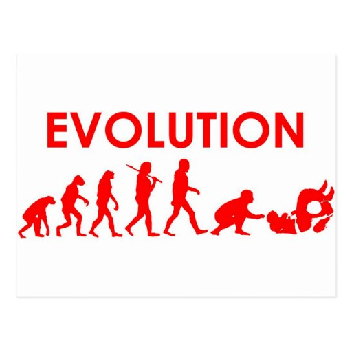 Jiu Jitsu Evolution Postcard