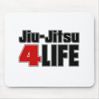 Jiu-Jitsu For Life Mouse Pad
