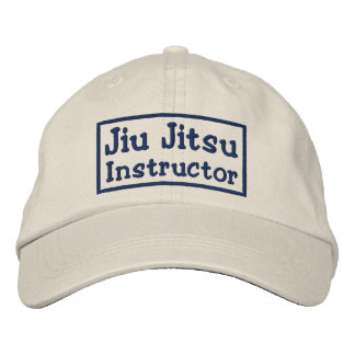 Jiu Jitsu Instructor Embroidered Baseball Caps