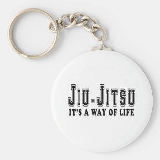 Jiu-Jitsu It's way of life Basic Round Button Keychain