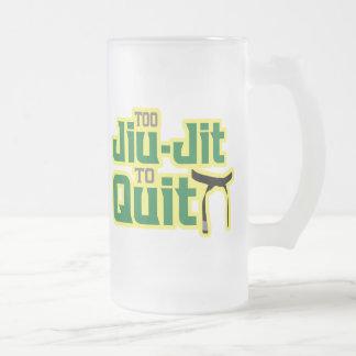 Jiu-Jitsu Jarra De Cerveza Esmerilada