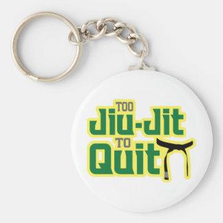 Jiu-Jitsu Llavero Redondo Tipo Pin