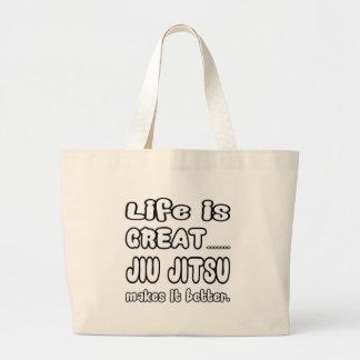 Jiu-Jitsu lo hace mejor Bolsa Tela Grande