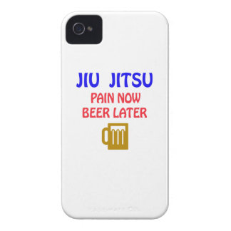 Jiu-Jitsu pain now beer later iPhone 4 Case-Mate Cases