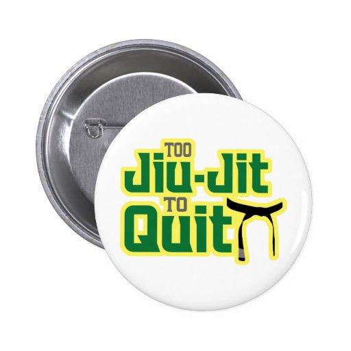Jiu-Jitsu Pinback Button