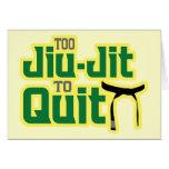 Jiu-Jitsu Tarjeta De Felicitación