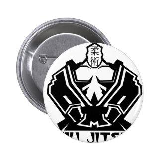 Jiu Jitsu - The Fighter Prepares Pinback Button