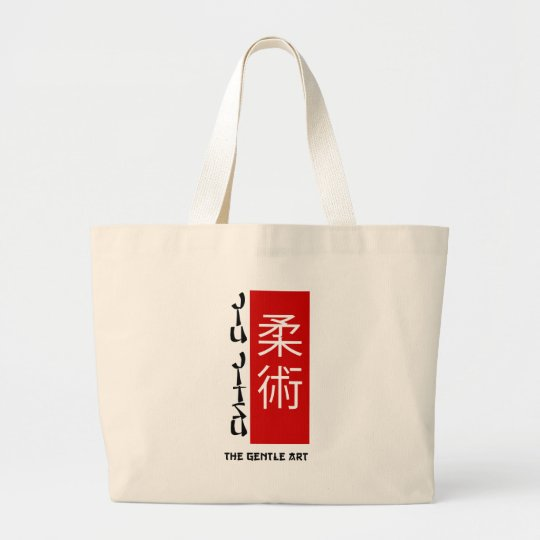 Jiu Jitsu - The Gentle Art Large Tote Bag