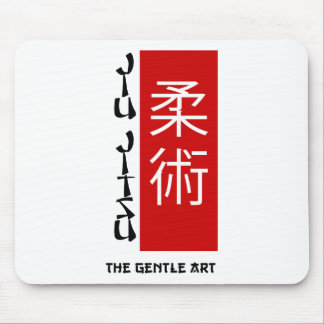 Jiu Jitsu - The Gentle Art Mouse Pad