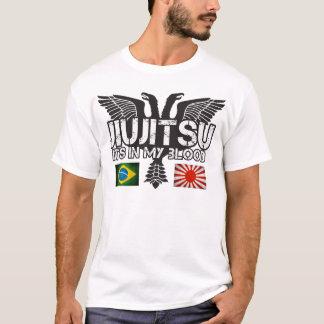 JiuJitsu el Brasil - camisa de Japón