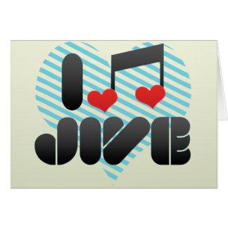 Jive Greeting Card