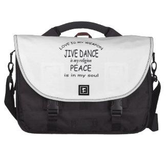 jive dance is my religion computer bag