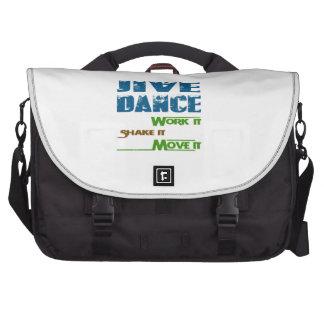 Jive dance Work It Shake It Move It Commuter Bags