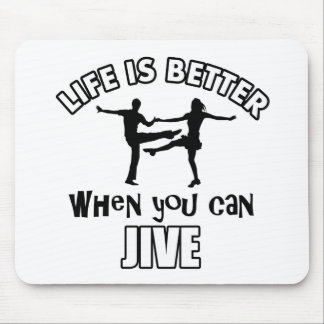 Jive designs and merchandise mouse pad
