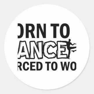 jive designs classic round sticker