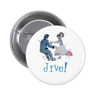 Jive Fun! swing dancing rock and roll Button