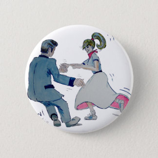 Jive Fun! swing dancing rock and roll Button
