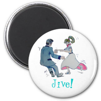 Jive Fun! swing dancing rock and roll Magnet