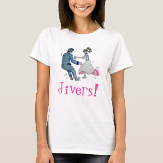 Jive Fun! swing dancing rock and roll T-Shirt