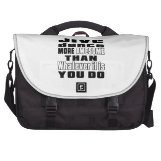 Jive more awesome whtaever it is you do laptop commuter bag