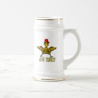 jive turkey beer stein