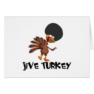 Jive Turkey Greeting Cards