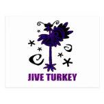 JIVE TURKEY POST CARD