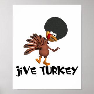 Jive Turkey Poster